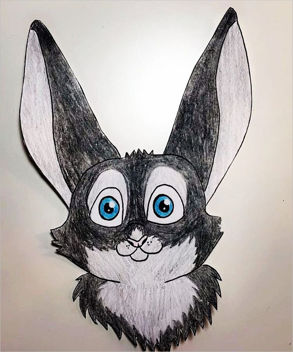 Cute Rabbit Drawing