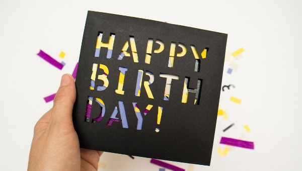 17 Free Birthday Card Templates