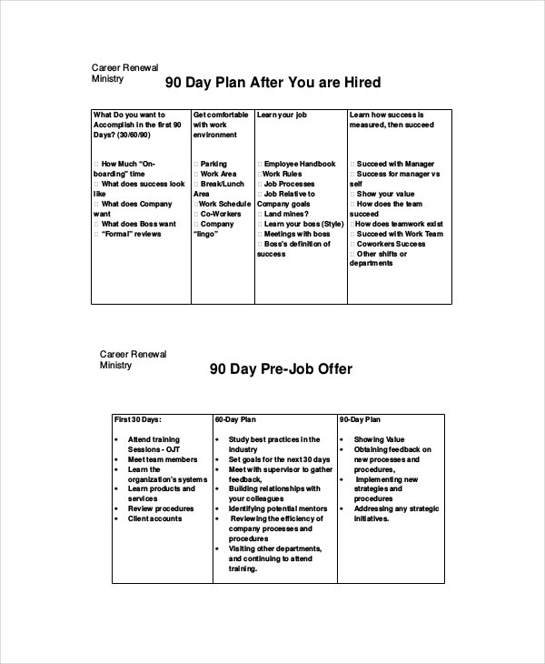 Day Plan Example   Free Word Pdf Ppt Documents