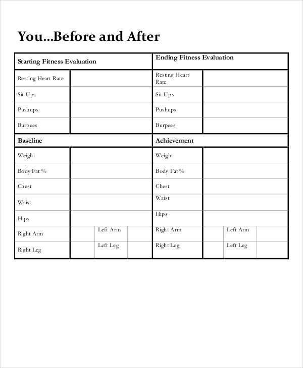60 day diet plan template