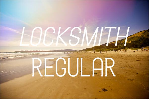 Locksmith Free Font
