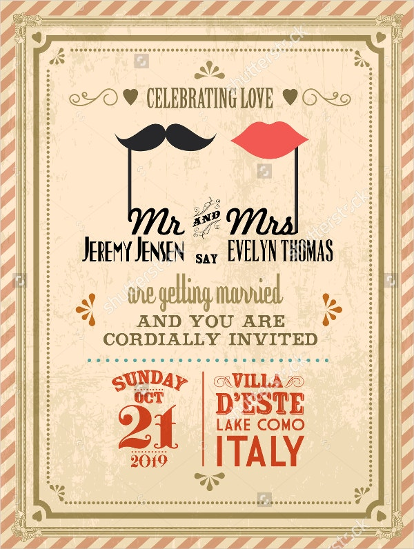 21+ Vintage Invitation Templates - Free Psd, Ai, Vector, Eps
