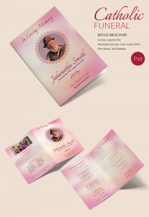Premium Catholic Brochure Template