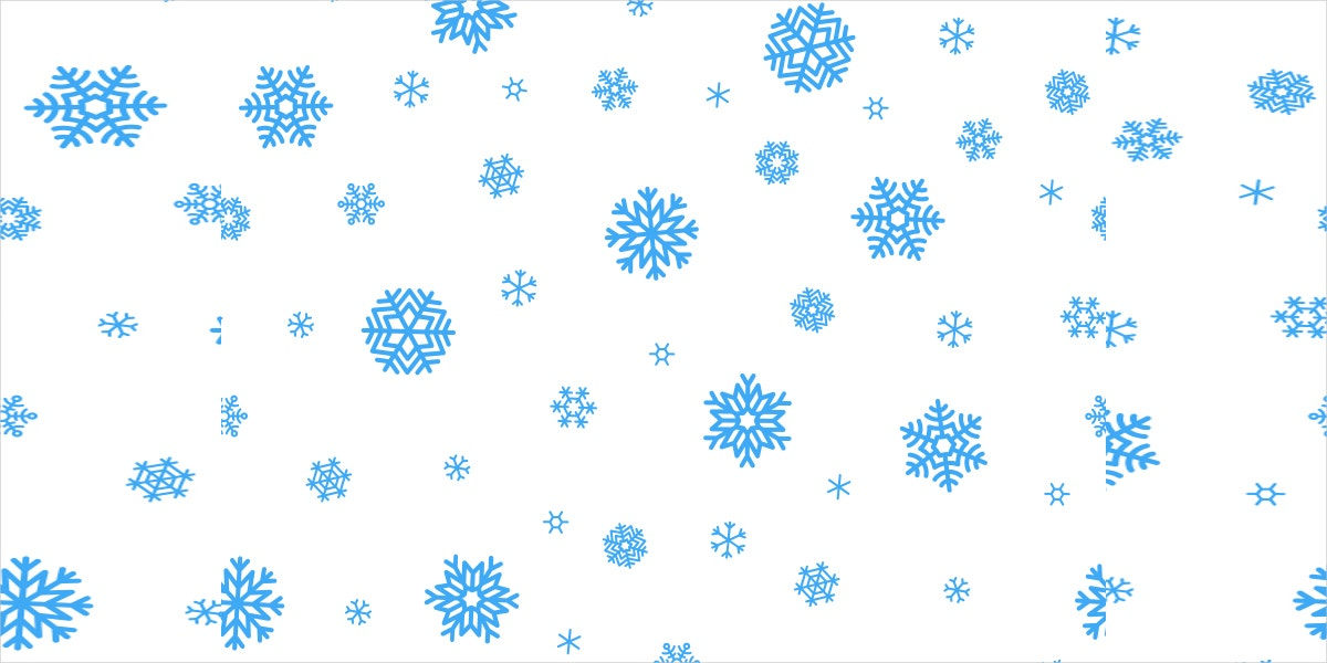new year snowflake pattern