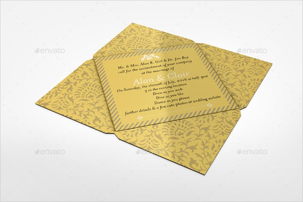 Greeting Card Mockup for Party