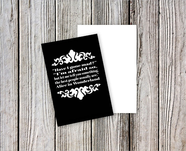 editable greeting card mockup