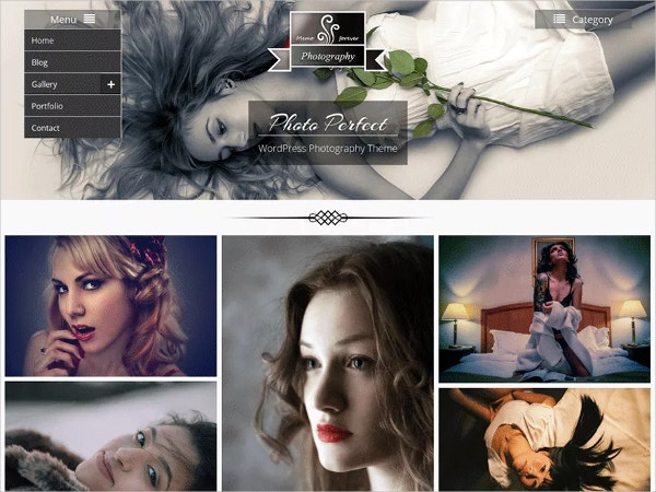 free professional photography wordpress websitetheme