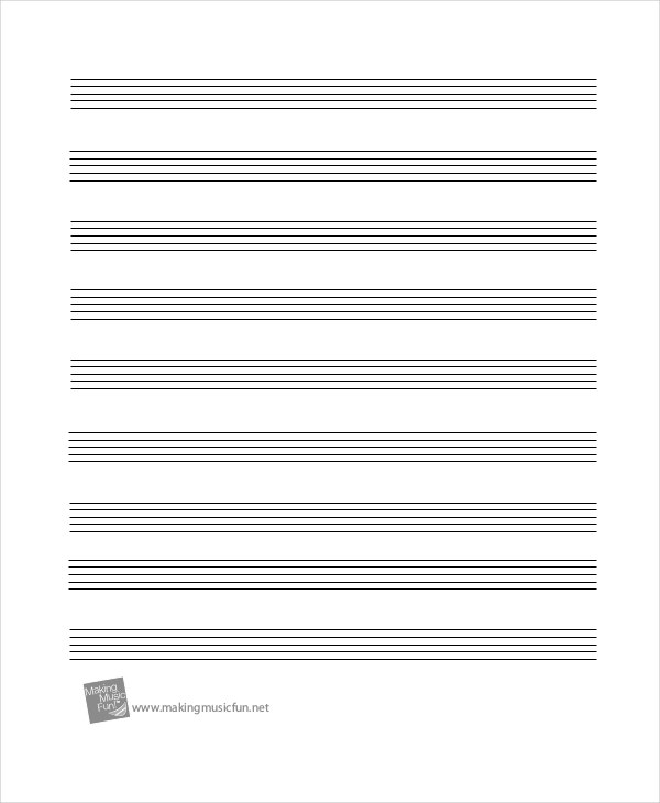 blank staff paper The paperback of the blank sheet music staff paper: music manuscript paper, staff paper, musicians notebook 12 staves, 85 x 11, a4, 100 pages by n-note at.