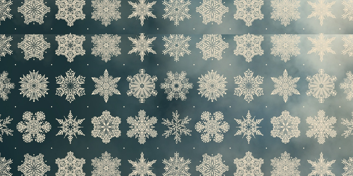 Magical Snowflake Pattern