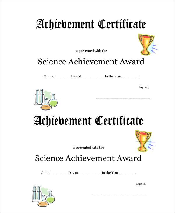 Winner Certificate Template