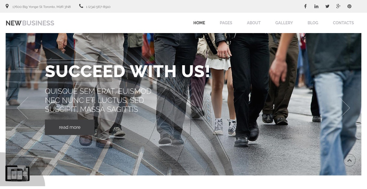 Professional Business Joomla Website Theme