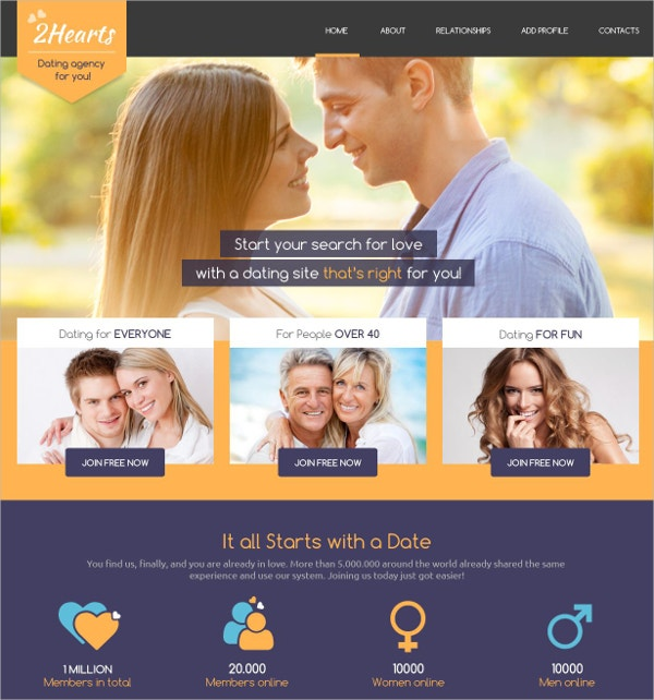 Responsive CSS Website Template $75