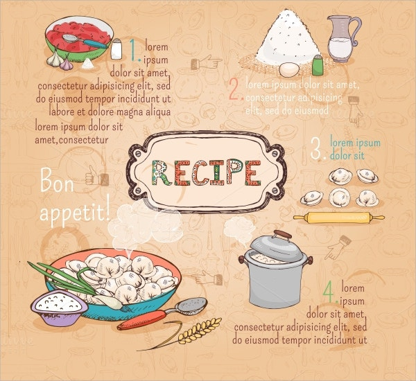 food ingredients recipe