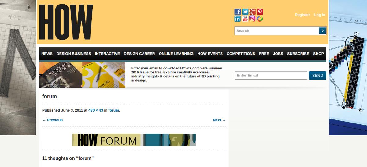 howdesign forum