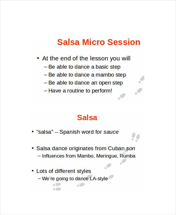 Salsa Music Powerpoint