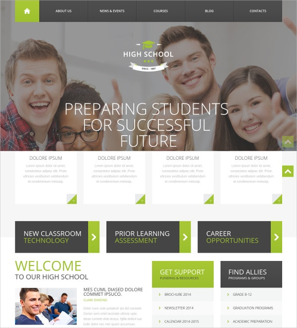 Family WordPress Website Theme $39