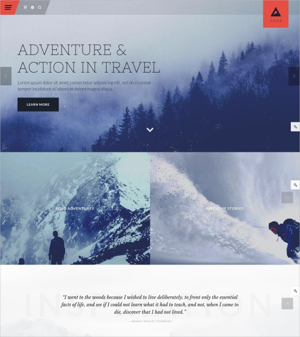 adventure travel wordpress website theme 59