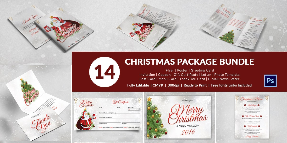 14 Christmas Package Bundle