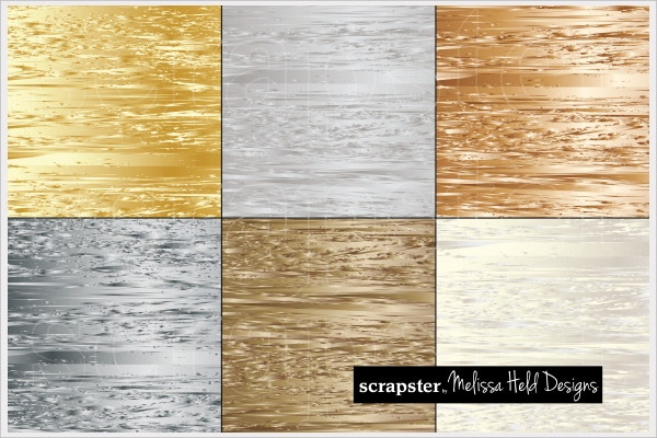 Abstract Metallic Texture