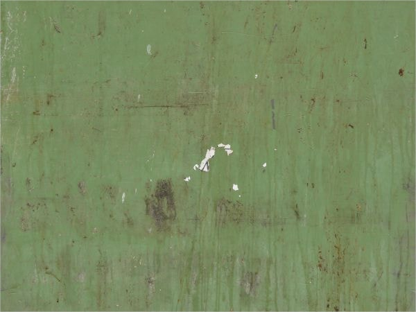 worn Green Metal Texture