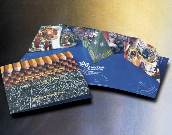 3D Pop-Up Brochure for Expocolour