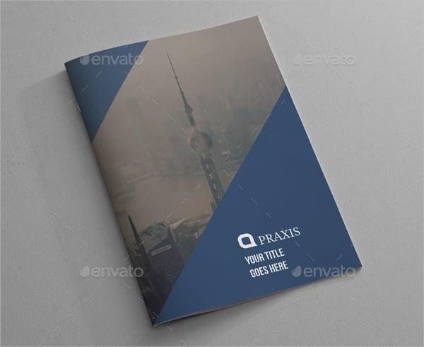 3d architecture brochure