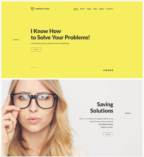Elegant HTML5 Responsive Template