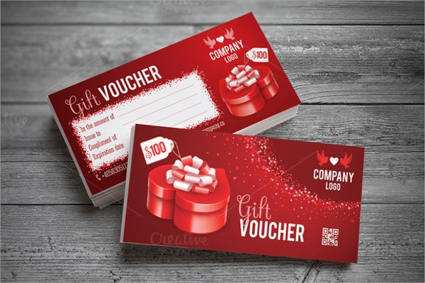 Gift Voucher Template Design