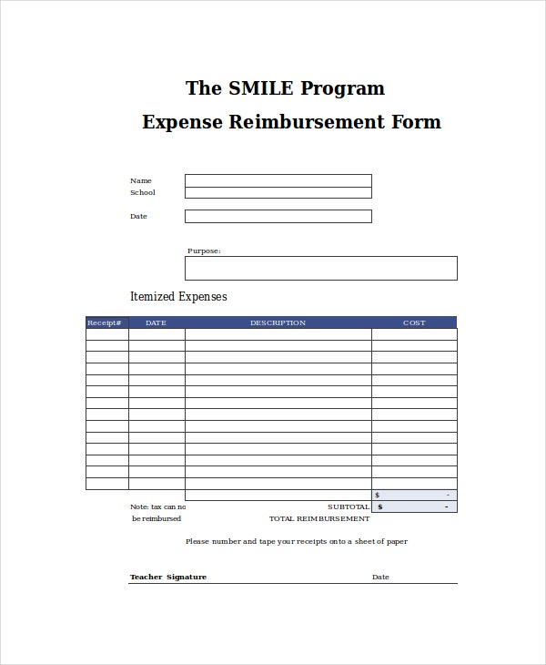 Excel Form Template   Free Excel Document Downloads  Free