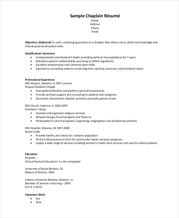 hospice resume 5 free word pdf document downloads free