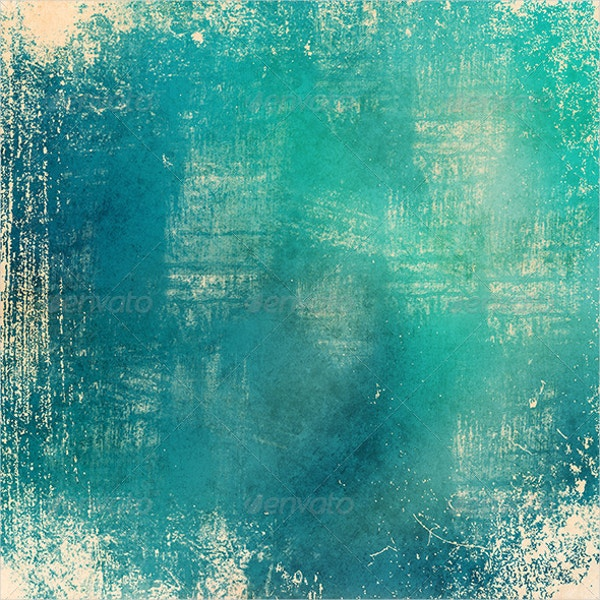 Blue Color Grunge Texture Poster