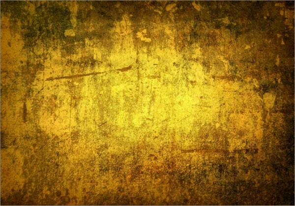 Rusty Gold Color Grunge Texture