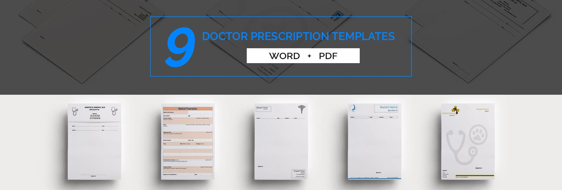 doctor's prescription templates