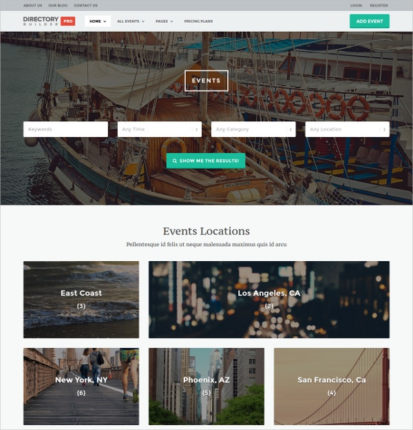 business companies classified wp theme 96