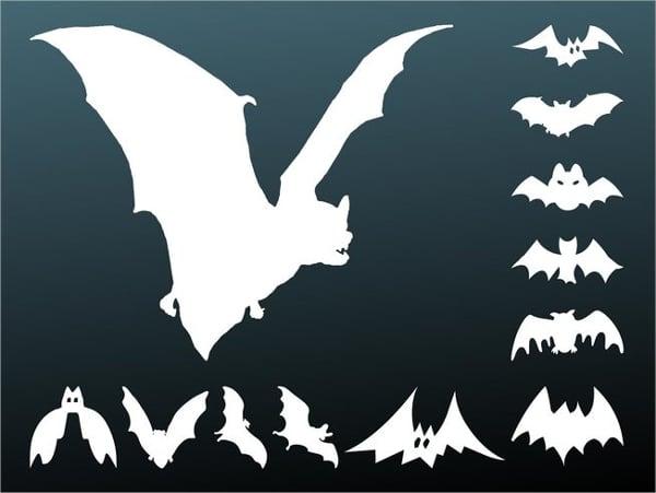 Bats Silhoutte for Halloween