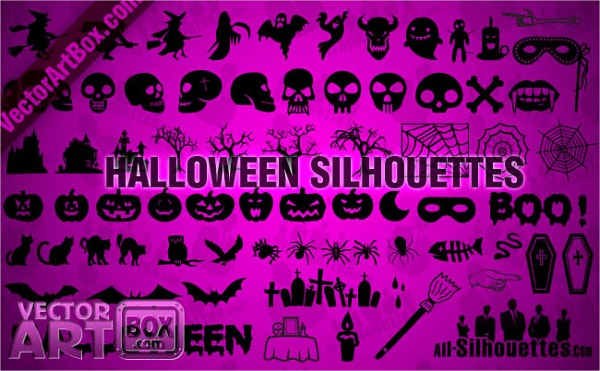 85 Halloween Silhouttes Free Download