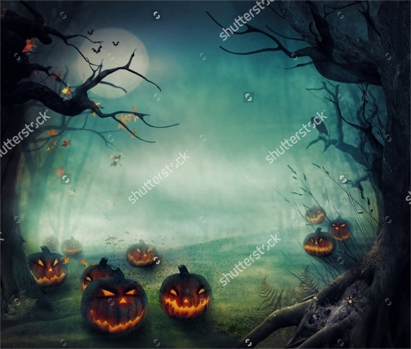 Halloween Horror Background