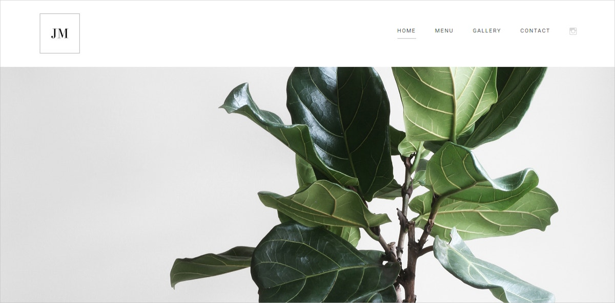 Minimalist PHP Website Theme $19