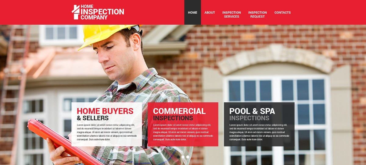 Mortgage Responsive Website Template $75