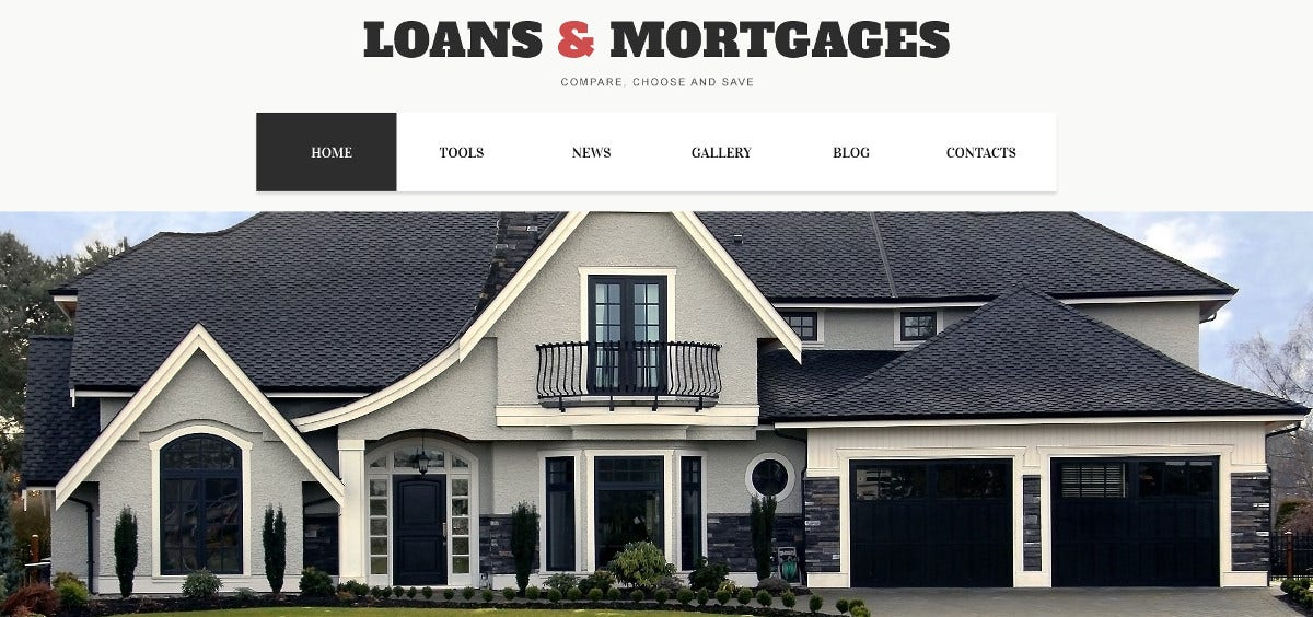 Loans & Mortgage WordPress Theme