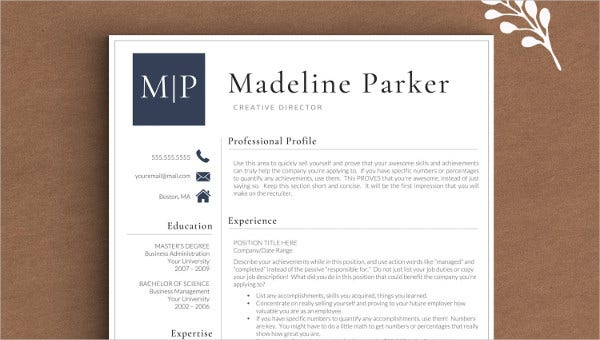 resume cover letters