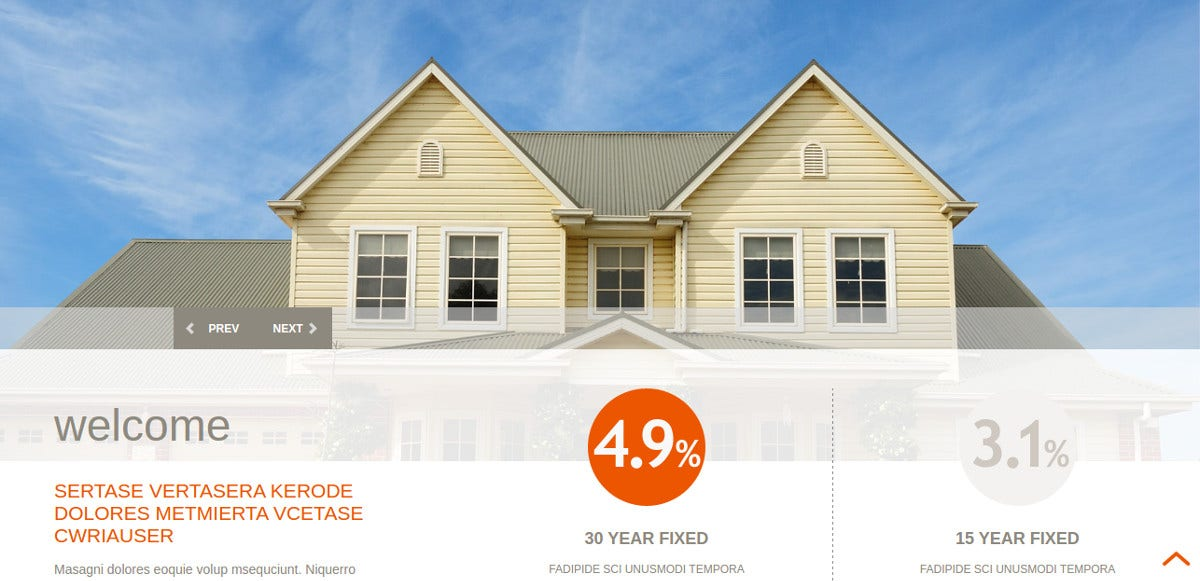 Mortgage WordPress Website Theme
