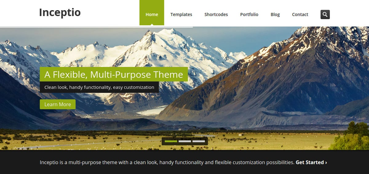 Multipurpose PHP Website Template $17