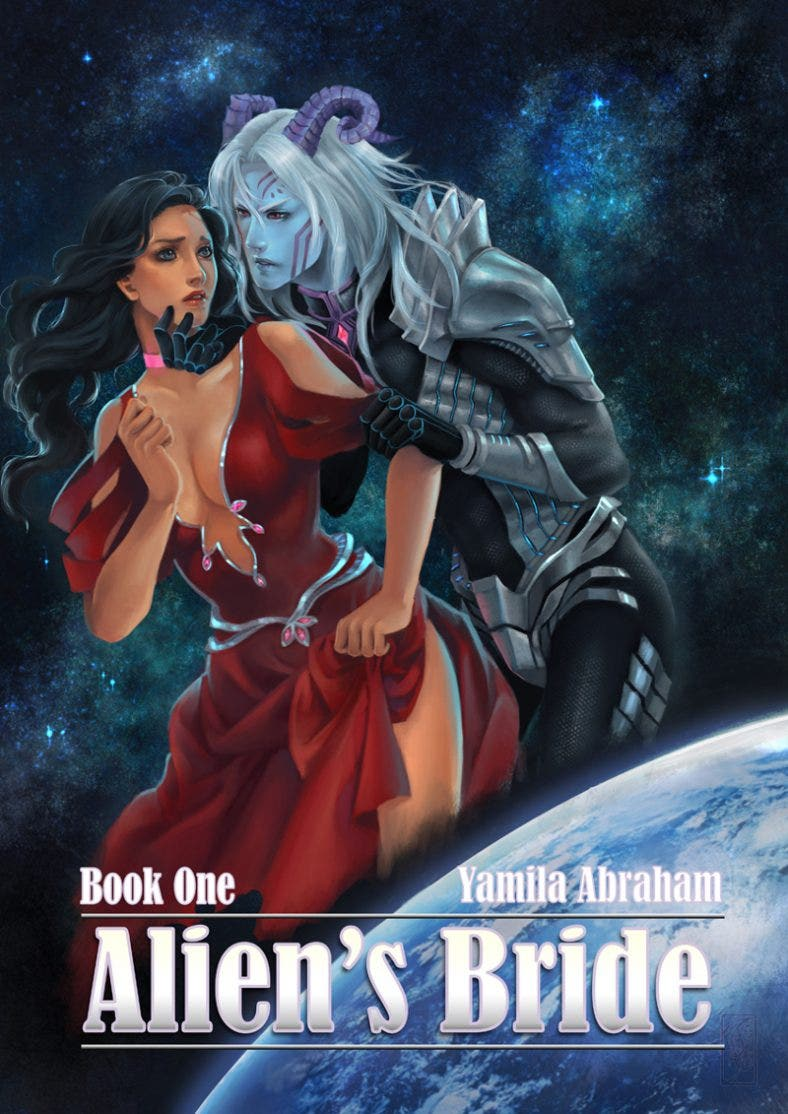 Book Cover of Aliens Bride
