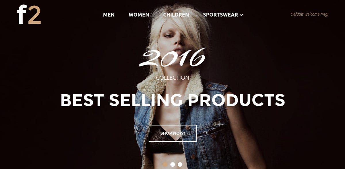 Free Jeans Magento Theme for Women