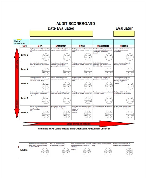 Scorecard template 34 3434 balanced scorecard template strategy excel scorecard template 6 free excel documents download free pronofoot35fo Images