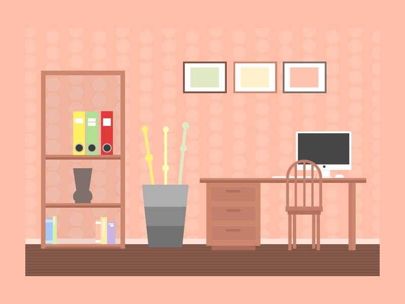 23 interior design illustrations free premium templates for Room design vector