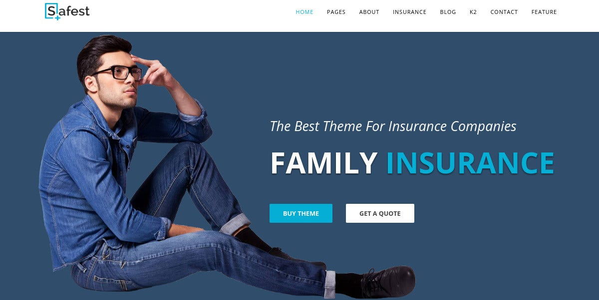 Business Insurance Joomla Website Template $48