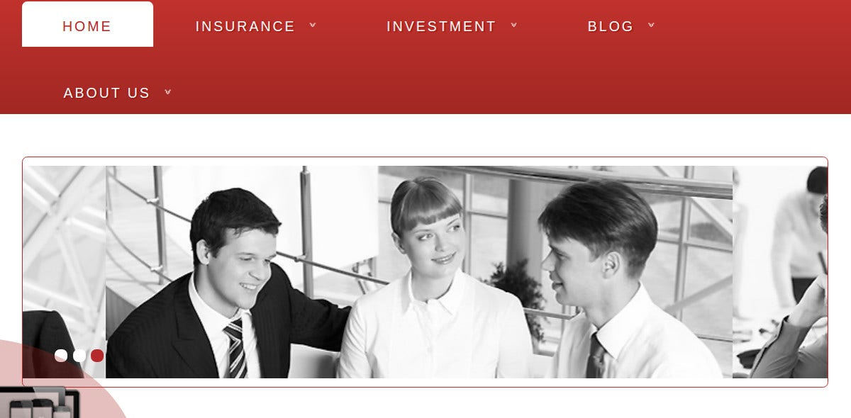 Insurance Joomla Website Theme $35