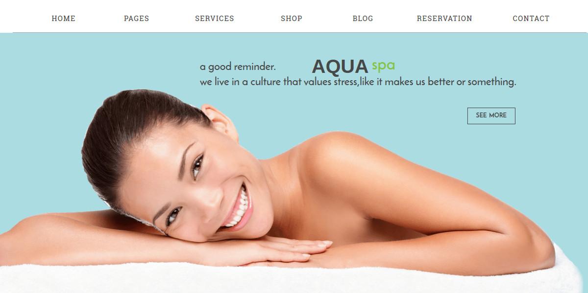 Hair Salon Responsive Drupal Website Theme $48
